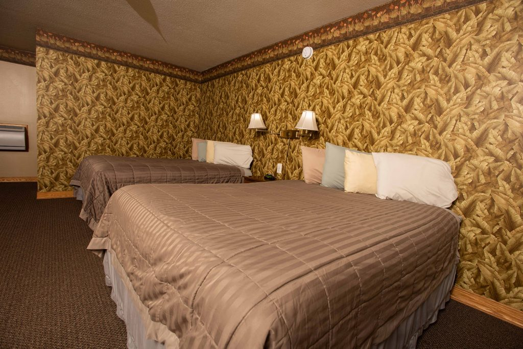Blue Spruce offers rooms with two queen beds.