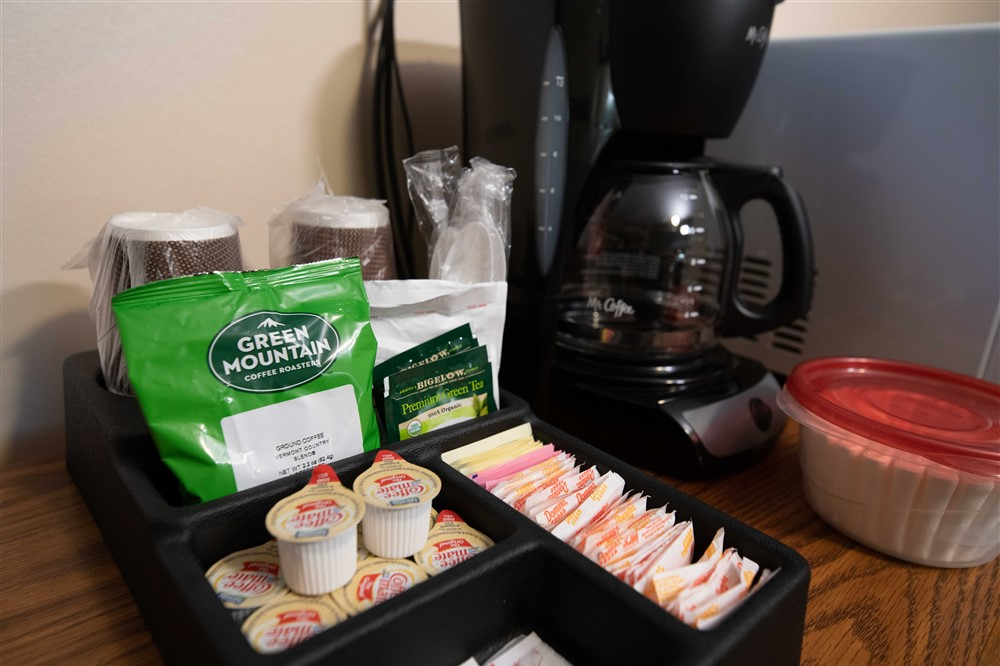 Coffee Station in Queen Double