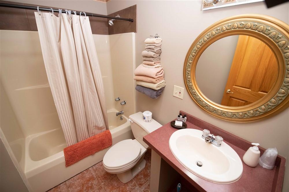 Bathroom in Queen Double